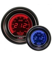 Prosport serie EVO termometro acqua elettronico digitale BMC - Diametro 52mm colore rosso e blu