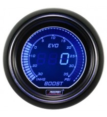 Prosport serie EVO manometro turbo digitale BMC - Diametro 52mm colore rosso o blu
