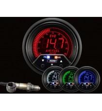 Prosport - manometro stechiometria digitale diametro 60mm 4 colori