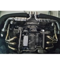 Capristo - Impianto cat back CATALIZZATO per Porsche 911 GT3 e GT3 RS