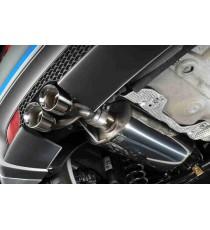 Milltek Sport - Cat-back (Centrale + Terminale) non silenziato per AUDI A1 con motore 1.4L TFSI 122cv