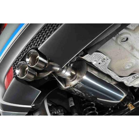 Milltek Sport - Cat-back (Centrale + Terminale) per AUDI A1 con motore 1.4L TFSI