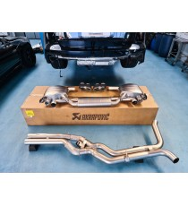 Akrapovic - Scarico Evolution per Audi RS6 Avant (C8)