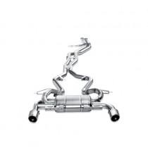 Akrapovic - Impianto di scarico completo in titanio per BMW Serie 3 335i (E90, E91) (2007>2012)