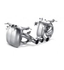 Akrapovic - Impianto di scarico Slip-On in titanio per FERRARI 458 Italia e Spider