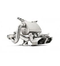 Akrapovic - Impianto di scarico Slip-On in titanio per LAMBORGHINI Aventador LP 700-4 Coupé - Roadster