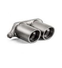 Akrapovic - Impianto di scarico race slip-on in titanio per PORSCHE 911GT3 e GT3 RS (991.2) senza GPF