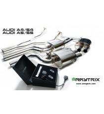 Armytrix - Kit scarico specifico per AUDI A4 sportback (B8), S4 sportback (B8), A5 sportback (B8) e S5 sportback (B8) 3.0L TFSI