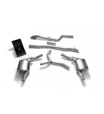 Armytrix - Cat Back in acciaio inossidabile per Mercedes Classe E 2D LHD (W213 (E200-E250-E300) C213 (E200-E250-E300) S213 (E200-E250-E300)