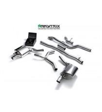 Armytrix - Cat Back in acciaio inossidabile per Mercedes Classe E W213 (E200-E250-E300) C213 (E200-E250-E300) S213 (E200-E250-E300)