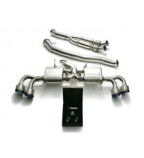 Armytrix - Kit scarico specifico in acciaio 102mm per NISSAN GT-R R35
