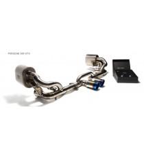 Armytrix - Cat back n titanio specifico per PORSCHE 911 GT3 e GT3 RS (991)