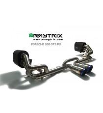 Armytrix - Cat back n titanio specifico per PORSCHE 911 GT3 e GT3 RS (991) MK1 3.8L 4.0L