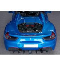 Capristo - Cofano motore in fibra di carbonio (lucido) per FERRARI 488 GTS