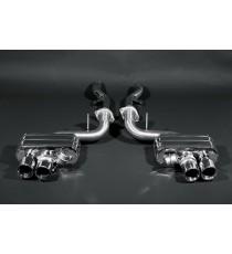 Capristo - Impianto cat back twin sound NON CATALIZZATO per Ferrari 599 con valvole