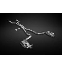 Capristo - Impianto di scarico in acciaio per Mercedes C43 AMG T S205