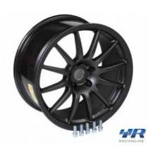 "Racing Line - Cerchio 18"" x 8"" colore antracite ET45"