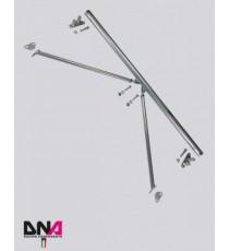 DNA - Barra duomi posteriore con tiranti per ABARTH 500
