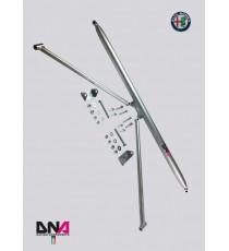 DNA - Barra duomi posteriore con tiranti per ALFA ROMEO Giulietta