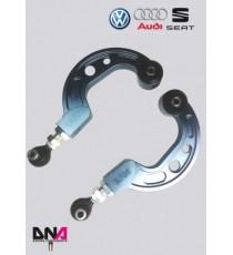 DNA - Kit bracci sospensione superiori regolazione camber DNA Racing per VW Scirocco III dal 2008-2017