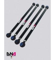 DNA - Kit tiranti sospensioni posteriori regolazione camber e convergenza per MINI R50, R52, R53, R55, R56 e R57
