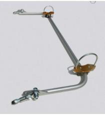DNA - Kit barra antirollio posteriore registrabile per Renault Clio 3 e Clio 3 RS
