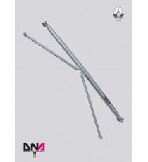 DNA - Barra duomi posteriore con tiranti per RENAULT Clio 3, 6 e Clio RS