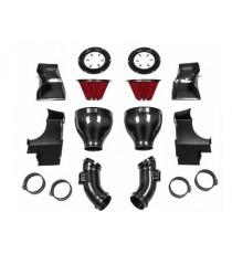 Eventuri - Sistema di aspirazione per BMW F10 M5 - Full Black Carbon Intake