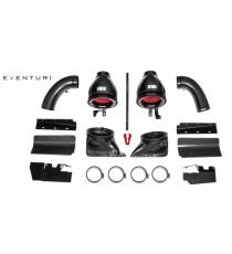Eventuri - Sistema di aspirazione per AUDI RS4 e RS5 B8 - Black carbon