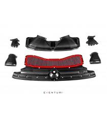 Eventuri - Sistema di aspirazione per Audi C8 RS6 e RS7 in carbonio GLOSS