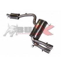 "HG Motorsport - Cat back 3"" BULL-X per AUDI S3 8P 2.0L TFSI quattro"