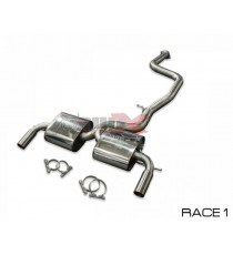 "HG Motorsport - Cat back 3"" BULL-X per FORD Focus Mk2 RS e ST"