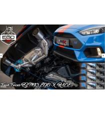 """HG Motorsport - Cat back 3"""" BULL-X per FORD Focus Mk3 RS"""