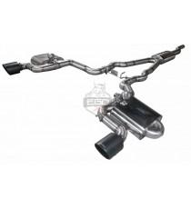 """HG Motorsport - Cat back omologato 3"""" BULL-X per FORD Mustang Ecoboost e V8"""
