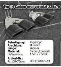 "HG Motorsport - Cat back 3"" BULL-X per AUDI A1 8X e S1 8X"