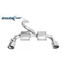 INOXCAR - Scarico 5 per FORD Focus Mk3 RS 2.3i Turbo 350cv diametro 70mm