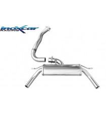 INOXCAR - Scarico 3 per RENAULT Clio IV RS Trophy 220 EDC 1.6L Turbo 220cv