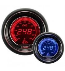 Prosport serie EVO termometro olio elettronico BMC - Diametro 52mm colore rosso o blu