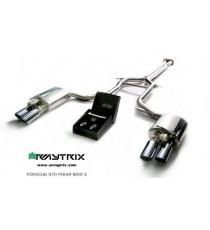 Armytrix - Cat back specifico per PORSCHE Panamera (971) e Panamera Sport Turismo (971)