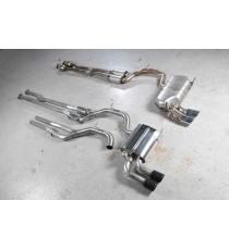 Milltek Sport - Scarico completo catalizzato per AUDI RS3 con motore 2.5L TFSI  con terminali in acciaio lucidato