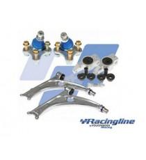 Racing Line - Bracci in alluminio anteriori completi di giunti sferici per telaio A5