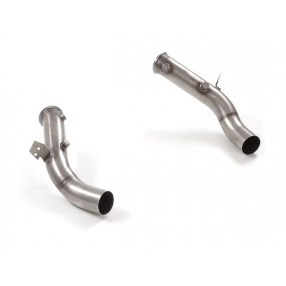 Ragazzon - Tubi sostituzione catalizzatori Gr. N inox Sinistra-Destra per Alfa Romeo Quadrifoglio