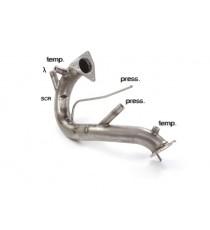 Ragazzon - Tubo sostituzione catalizzatore e filtro antiparticolato Gr. N inox per Audi Q5 Quattro 3.0TDi V6 (190kW)