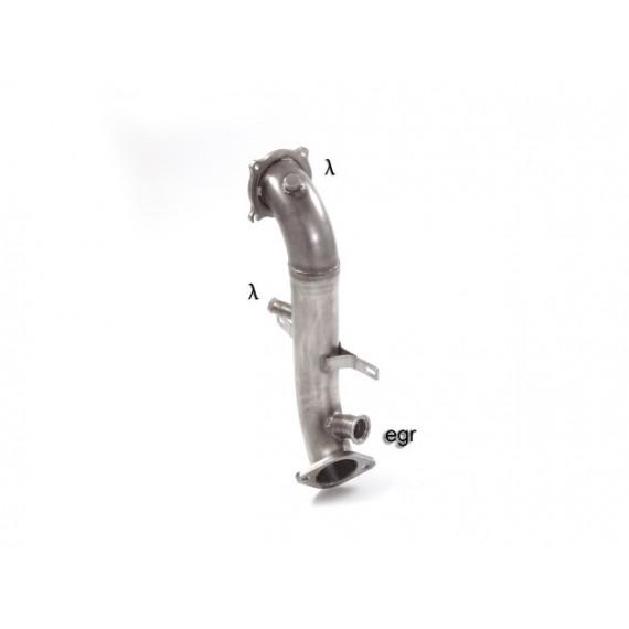 Ragazzon - Tubo sostituzione catalizzatore Gr. N inox per Alfa Romeo Giulia
