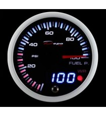 Depo racing - pressione benzina analogico/digitale diametro 60mm