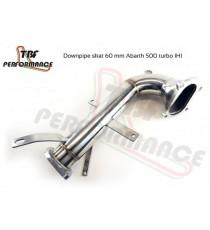 TBF - Downpipe diametro 60mm per ALFA ROMEO MiTo e Giulietta con turbina IHI