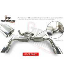TBF - Scarico completo per FIAT 500 Abarth