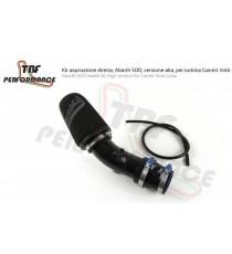TBF - Kit aspirazione diretta per FIAT 500 Abarth con turbina Garrett 1446 o turbina Mitsubishi TD04