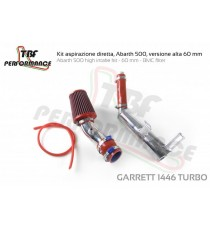 TBF - Kit aspirazione diretta con filtro per FIAT 500 Abarth con turbina Garrett 1446 o turbina Mitsubishi TD04