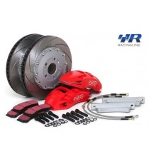 Racing Line - Kit impianto frenante maggorato anteriore con dischi da 345mm e pinze a 4 pompanti per piattaforma MQB
